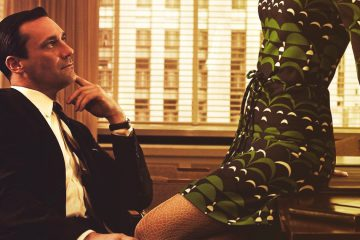 Jon Hamm as Don Draper on AMC's TV series Mad Men