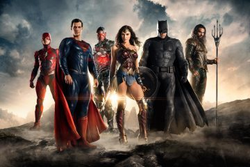 Flash, Superman, Cyborg, Wonder Woman, Batman, and Aquaman are the Justice Leage in the DC WB film universe.
