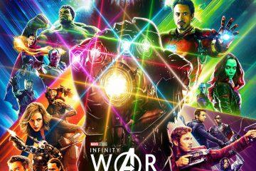 Fan-made Avengers: Infinity War poster by artist Pierre-Luc Boucher