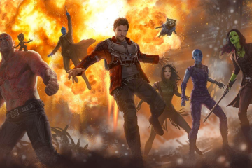 Concept art for Marvel's Guardians of the Galaxy Vol. 2