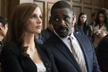 Jessica Chastain and Idrid Elba in Molly's Game