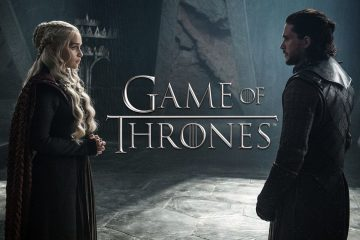 Danaerys Targaryen (Emilia Clarke) and Jon Snow (Kit Harrington) in HBO's addictive, must-see TV series, Game of Thrones
