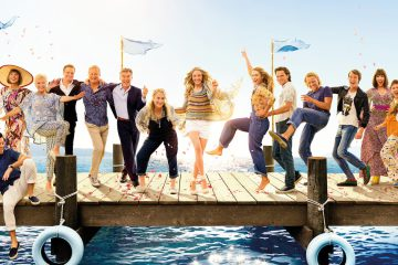 The cast of Mamma Mia! Here We Go Again
