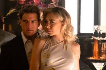 Tom Cruise as Ethan Hunt and Vanessa Kirby as The White Widow in Mission: Impossible - Fallout