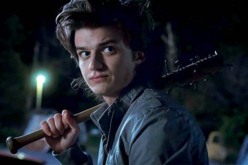 Joe Keery as Steve Harrington in Stranger Things 2