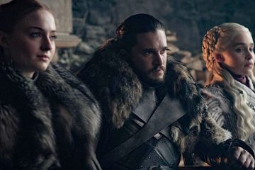 Lady Sansa Stark (Sophie Turner), Lord Jon Snow (Kit Harrington), and Queen Daenerys Targaryen (Emilia Clarke) have some tense character moments in season 8 of HBO's Game of Thrones