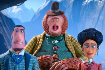Hugh Jackman, Zach Galifianakis, and Zoe Saldana are the voice actors of Sir Lionel Frost, Susan the Sasquatch, and Adelina Fortnight in Laika's animated movie Missing Link