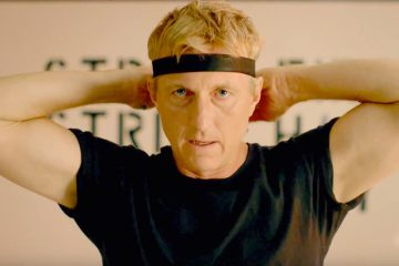 William Zabka stars as Johnny Lawrence in the hit Netflix series Cobra Kai, a TV sequel to The Karate Kid movie franchise