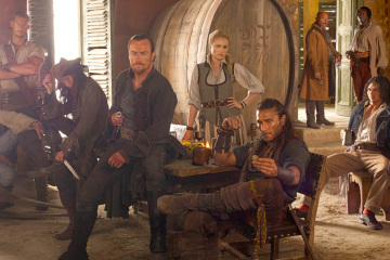 The season one cast of the Starz series Black Sails
